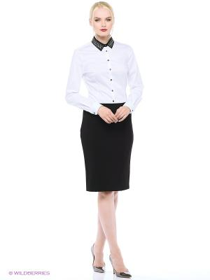 Блузка Trussardi. Цвет: белый