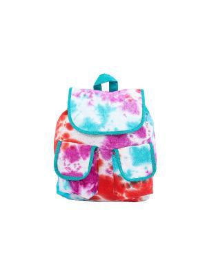 Рюкзак хлопок с декор. Отделкой ГАНГ. Цвет: морская волна