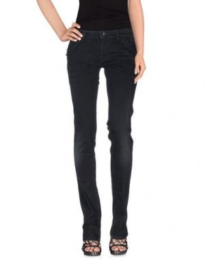 Джинсовые брюки NOLITA DE NIMES. Цвет: черный