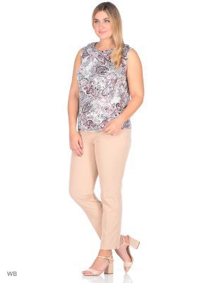 Блуза Emi Filini. Цвет: розовый, серый