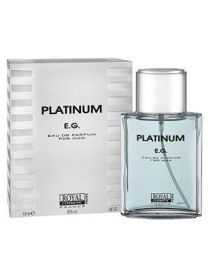 Парфюмерная вода Платинум Е.Г. (Platinum E.G.) муж. 100мл ROYAL COSMETIC. Цвет: прозрачный