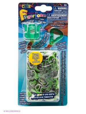Фингер Лум  Зеленый RAINBOWLOOM. Цвет: бирюзовый