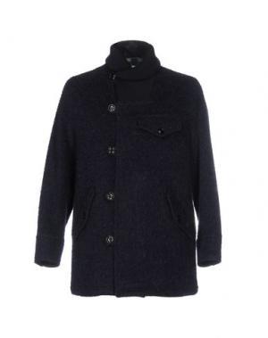 Пальто TS(S). Цвет: темно-синий