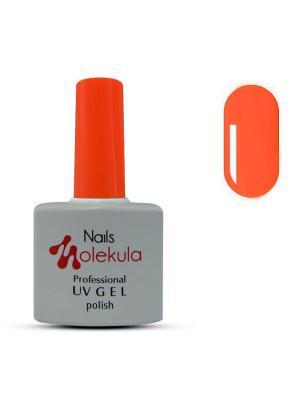 Профессиональный гель-лак. Gel Polish. Тон 54 Nails Molekula. Цвет: коралловый