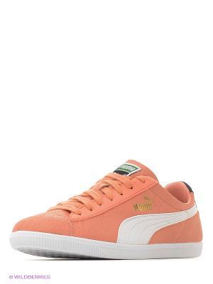 Кроссовки Glyde LO Basic Sports Puma. Цвет: персиковый
