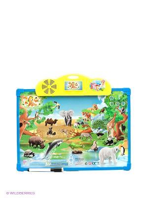 Интерактивная доска Зоопарк Shantou Gepai. Цвет: зеленый, желтый, синий