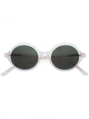 Солнцезащитные очки Doc Han Kjøbenhavn. Цвет: металлический