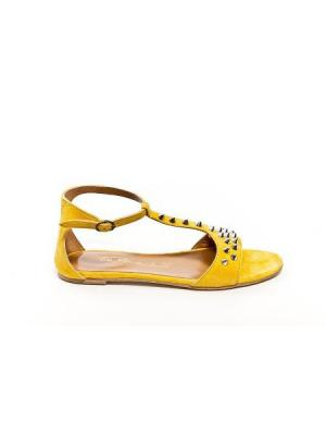 Сандалии Via Roma 15. Цвет: желтый