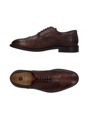 Обувь на шнурках H by HUDSON. Цвет: коричневый