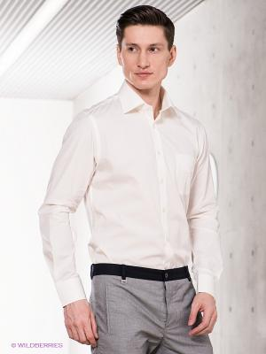 Рубашка MONDIGO. Цвет: молочный, кремовый