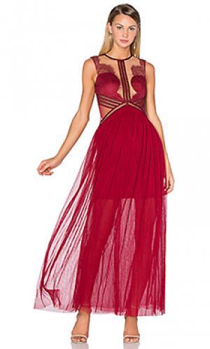 Вечернее платье hot damn Three Floor. Цвет: вишня