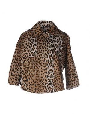 Куртка MANOUSH. Цвет: бежевый