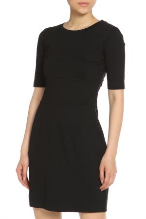 Офисное платье с круглой горловиной Max Mara. Цвет: черный