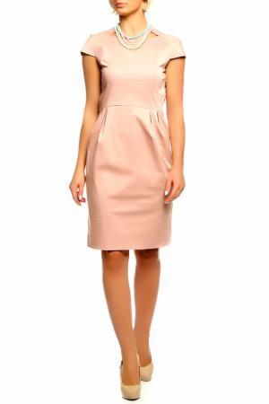 Платье BGN. Цвет: бежевый