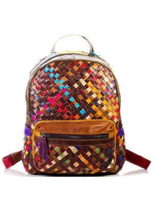 Рюкзак AnnA Wolf. Цвет: коричневый, рыжий, красный, синий, зеленый