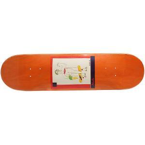 Дека для скейтборда  SSS №2 Orange 32 x 8.125 (20.6 см) Absurd. Цвет: мультиколор,оранжевый