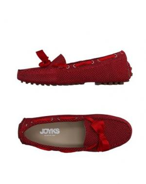 Мокасины JOYKS. Цвет: красный