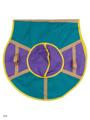 Санки надувные Ватрушка Метиз. Цвет: бирюзовый, темно-фиолетовый