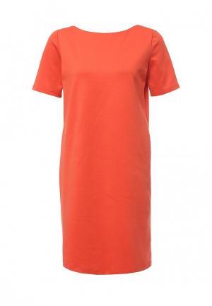Платье Top Secret. Цвет: оранжевый