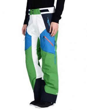 Лыжные брюки PEAK PERFORMANCE. Цвет: зеленый