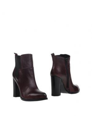 Полусапоги и высокие ботинки FABRIZIO CHINI. Цвет: красно-коричневый