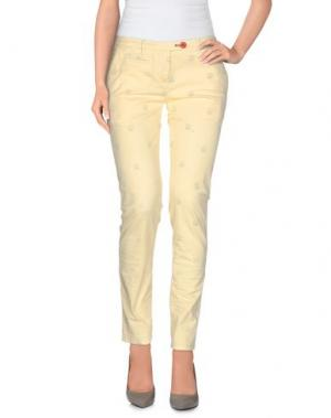 Повседневные брюки SUPERPANTS. Цвет: желтый
