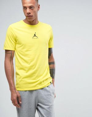 Jordan Желтая футболка Nike 23/7 Basketball Jumpman 840394-741. Цвет: желтый