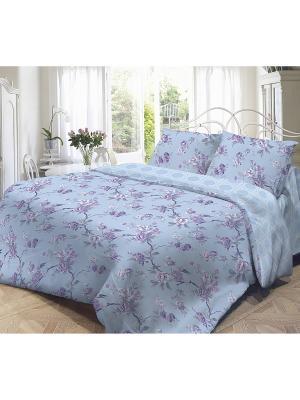 Комплект постельного белья,  Сиреневое утро Волшебная ночь. Цвет: сиреневый