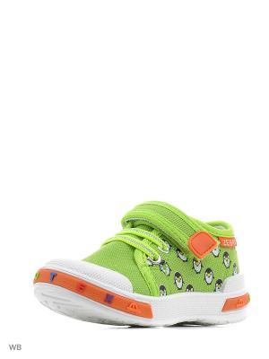 Ботинки EcoTex Zebra. Цвет: зеленый