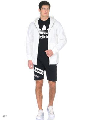 Толстовка X BY O FZ WHITE Adidas. Цвет: белый