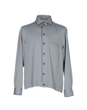 Pубашка UMIT BENAN. Цвет: светло-серый