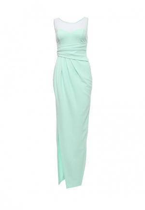 Платье Goddiva. Цвет: мятный
