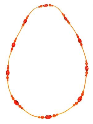 Ожерелье Bohemia Style. Цвет: оранжевый