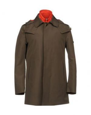 Легкое пальто KIRED. Цвет: стальной серый