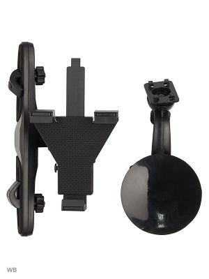 Держатель для планшета/iPad на стекло и подголовник KDS-1TP WIIIX. Цвет: черный