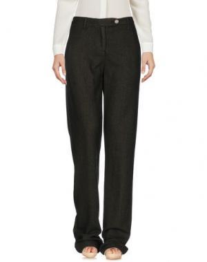 Повседневные брюки MASSIMO ALBA. Цвет: темно-зеленый