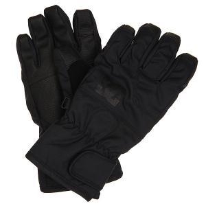 Перчатки сноубордические детские DC Seger Glove Black Shoes. Цвет: черный