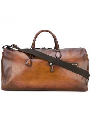 Дорожная сумка Veneglo Berluti. Цвет: коричневый