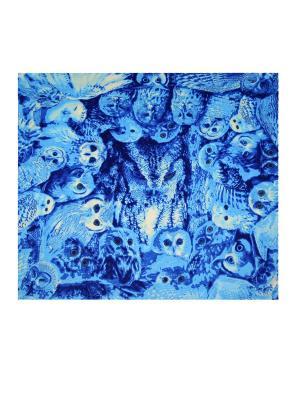 Платок Magrom. Цвет: голубой