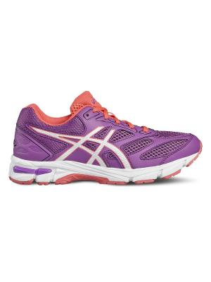 Спортивная обувь GEL-PULSE 8 GS ASICS. Цвет: фиолетовый, белый, розовый