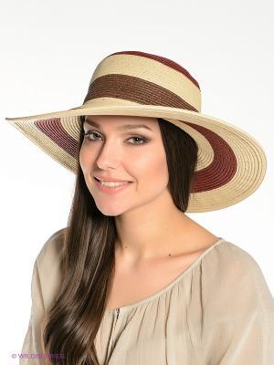 Шляпа Canoe. Цвет: бежевый, красный