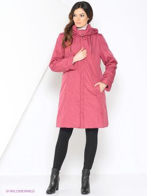 Пальто TAIMI Maritta. Цвет: малиновый