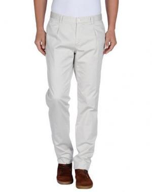 Повседневные брюки AUTHENTIC ORIGINAL VINTAGE STYLE. Цвет: светло-серый