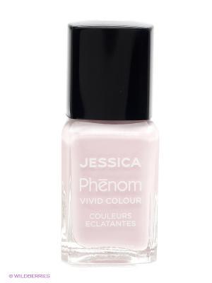 Phenom Цветное покрытие Vivid Colour Dream On № 30, 15 мл JESSICA. Цвет: бледно-розовый