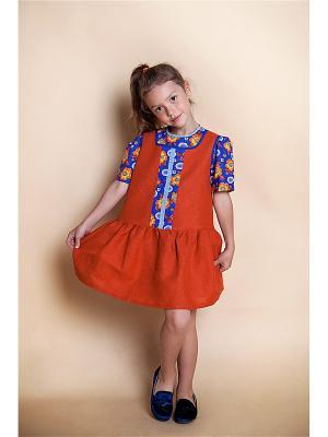 Сарафан для девочки Оранжевое лето PrettyBaby