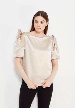 Блуза Tutto Bene. Цвет: бежевый