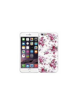 Чехол для iPhone 6/6s Розовый букет (белый) Kawaii Factory. Цвет: белый, розовый