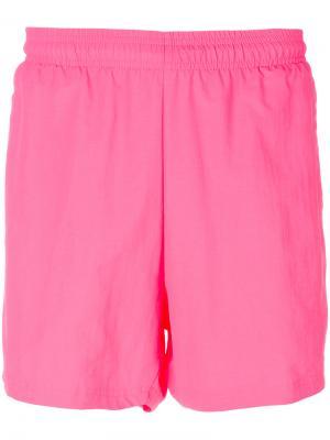 Спортивные шорты Gosha Rubchinskiy x Adidas Originals. Цвет: розовый и фиолетовый