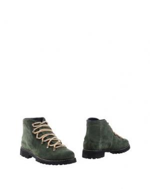 Полусапоги и высокие ботинки SWAMP. Цвет: темно-зеленый