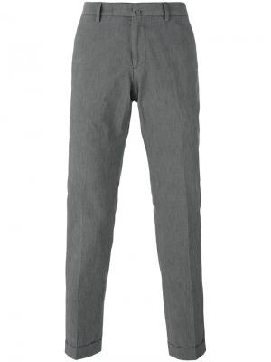 Slim-fit trousers Briglia 1949. Цвет: серый